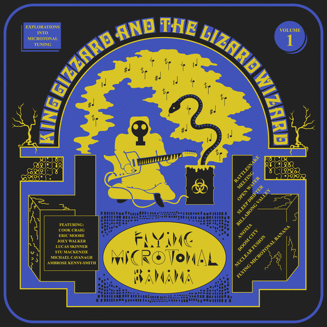 Album cover for Flying Microtonal Banana by King Gizzard & The Lizard Wizard