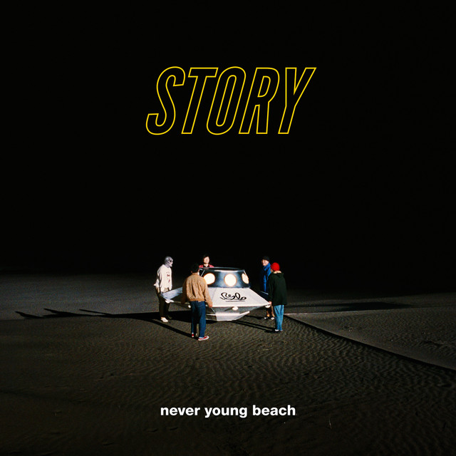 Album cover for STORY by never young beach