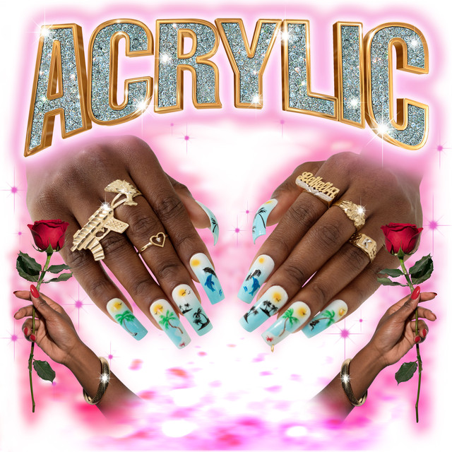 Album cover for Acrylic by Leikeli47