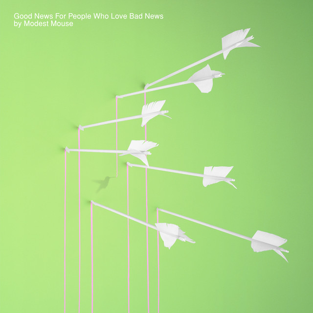 Album cover for Good News For People Who Love Bad News by Modest Mouse