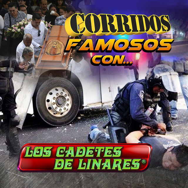 Album cover for Corridos Famosos Con… by Los Cadetes De Linares