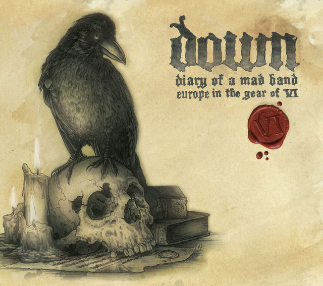 Down Diary of a Mad Band (Live) album cover