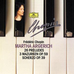 Chopin Compact Edition 1991: 24 Préludes Op. 28; Prélude Op. 45; Prélude Op. posth.; 3 Mazurkas Op. 59; Scherzo Op. 39 Albumcover
