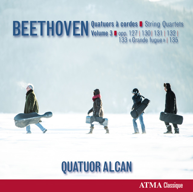 Beethoven: Quatuors à cordes, Vol. 3 Albumcover
