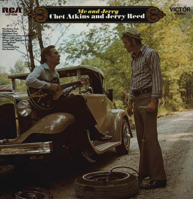 Jerry Reed, Chet Atkins Me and Jerry album cover