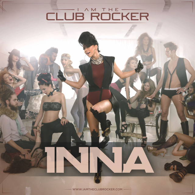 Album cover for I Am The Club Rocker by Inna