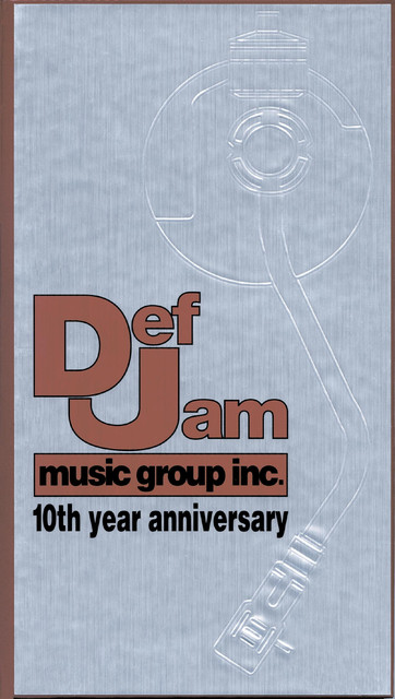 Def Jam Music Group Tenth Year Anniversary Box Set By