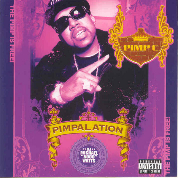 Pimp C Pimpalation (Screwed) album cover