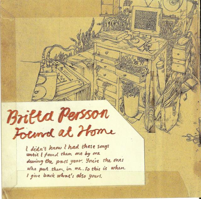 Skivomslag för Britta Persson: Found At Home
