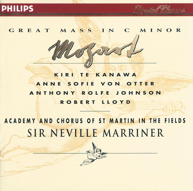 Mozart: Great Mass in C minor; Ave Verum Corpus
