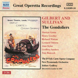 Sullivan: The Gondoliers (D'Oyly Carte) (1950)