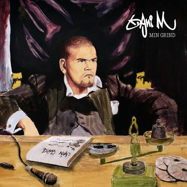 Skivomslag för Dani M: Min Grind