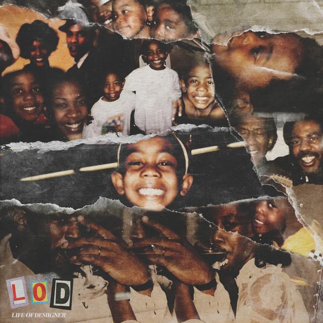 Album cover for L.O.D. by Desiigner