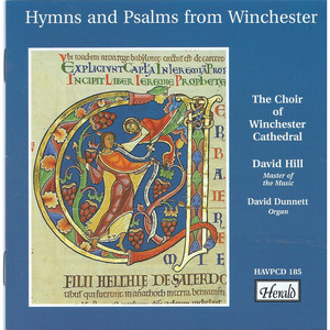 Hymns and Psalms from Winchester album