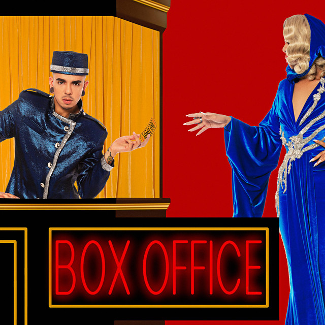 Album cover for BOX Office by Aja