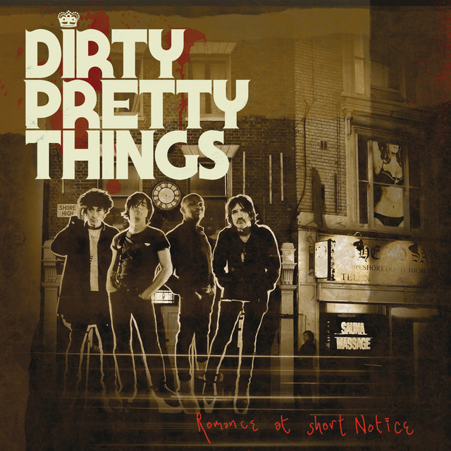 Album cover for Romance At Short Notice by Dirty Pretty Things