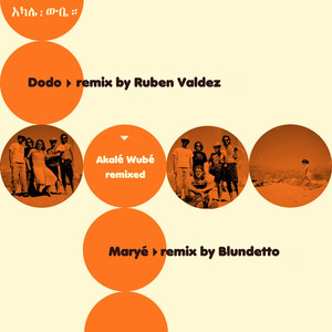 Album cover for Akale Wube Remixed by Akale Wube