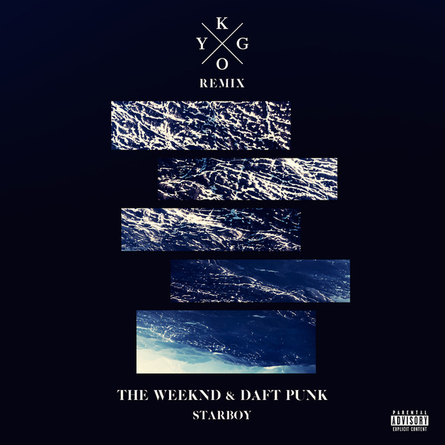 The Weeknd Starboy (Kygo Remix) album cover
