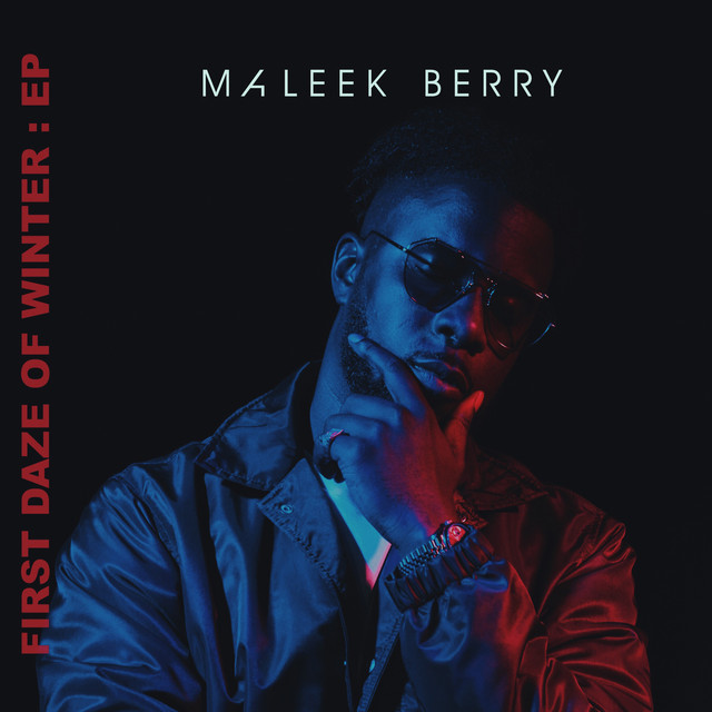 Album cover for First Daze Of Winter by Maleek Berry