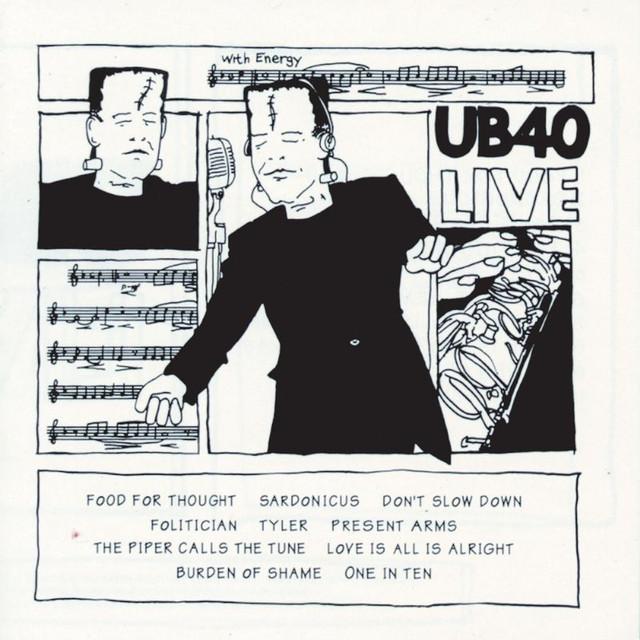 UB40 UB40 Live album cover