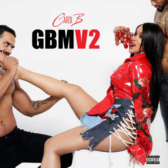 Album cover for GBMV2 by Cardi B