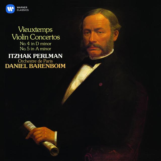 Vieuxtemps: Violin Concertos Nos 4 & 5 Albumcover