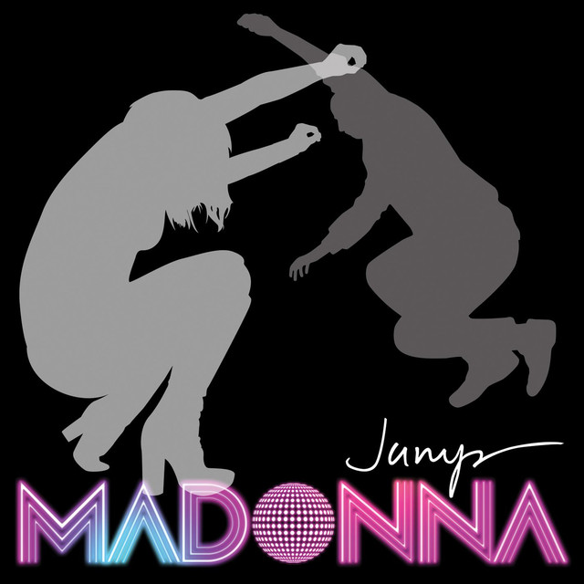 Madonna Jump (Int'l Maxi) album cover
