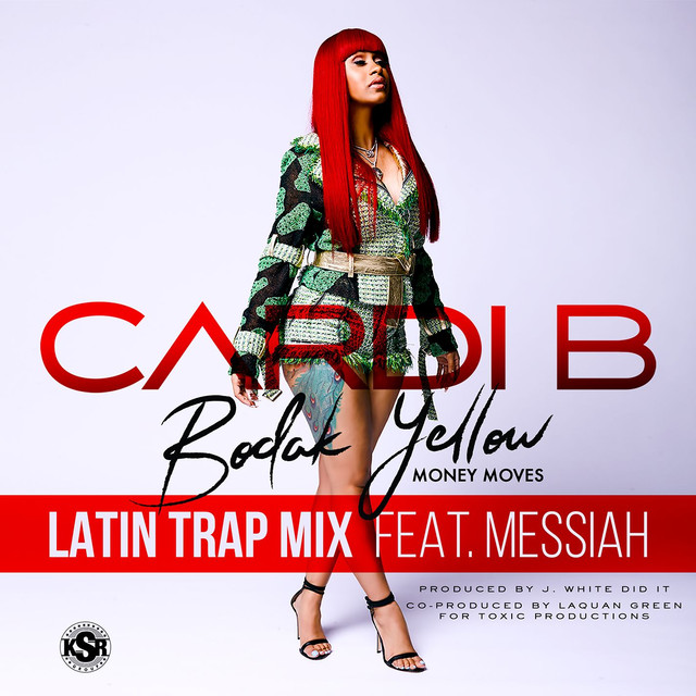 Bodak Yellow (feat. Messiah) [Latin Trap Remix]