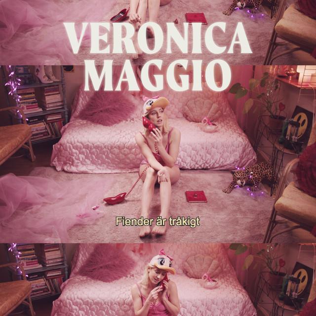 Skivomslag för Veronica Maggio: Fiender Är Tråkigt