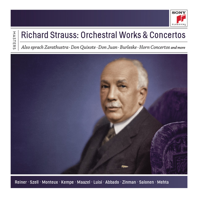 Richard Strauss: Orchestral Works and Concertos Albumcover