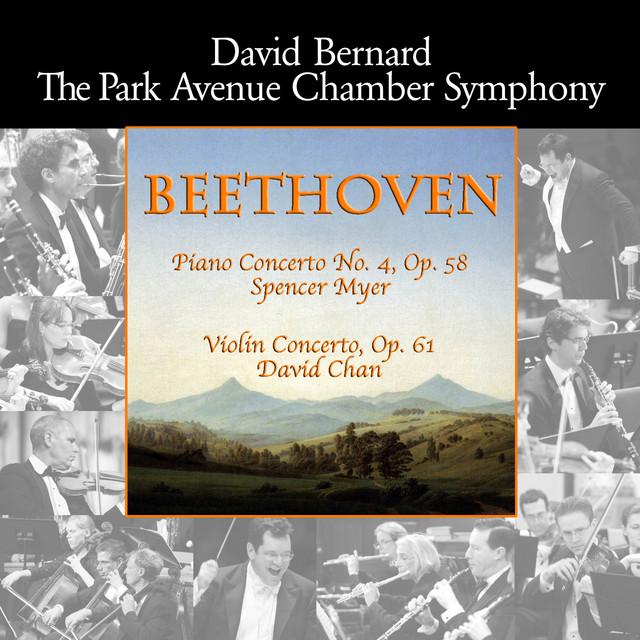 Beethoven: Piano Concerto No. 4, Op. 58 - Violin Concerto, Op. 61 Albumcover