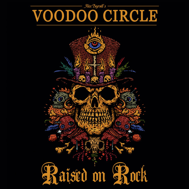 Album cover for Raised on Rock by Voodoo Circle