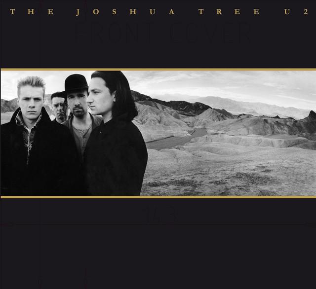 Skivomslag för U2: The Joshua Tree
