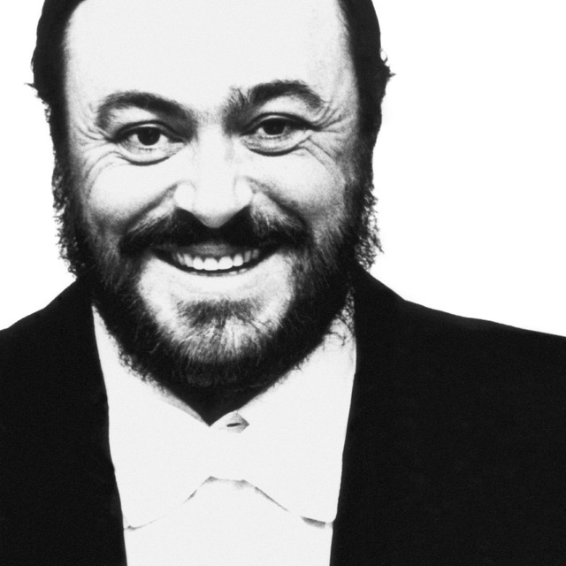 Luciano Pavarotti, James Brown It's a Man's World cover