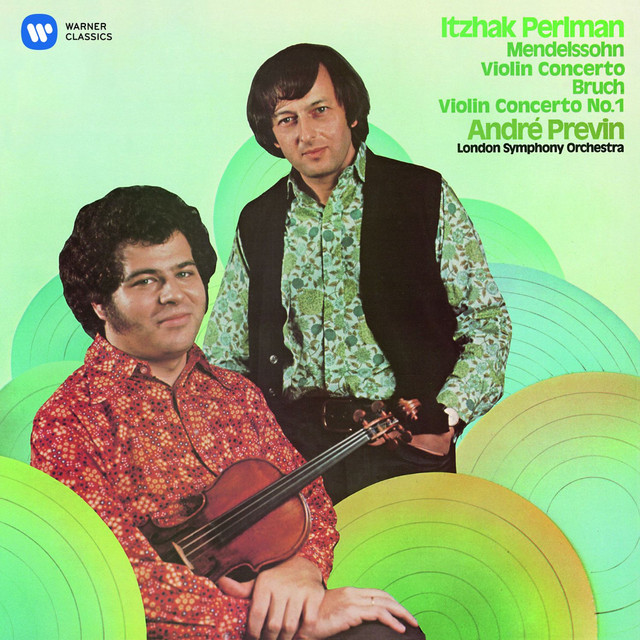 Mendelssohn: Violin Concerto No. 2 - Bruch: Violin Concerto No. 1 Albumcover