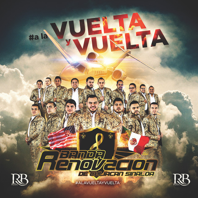 Album cover for Ala Vuelta Y Vuelta by Banda Renovacion
