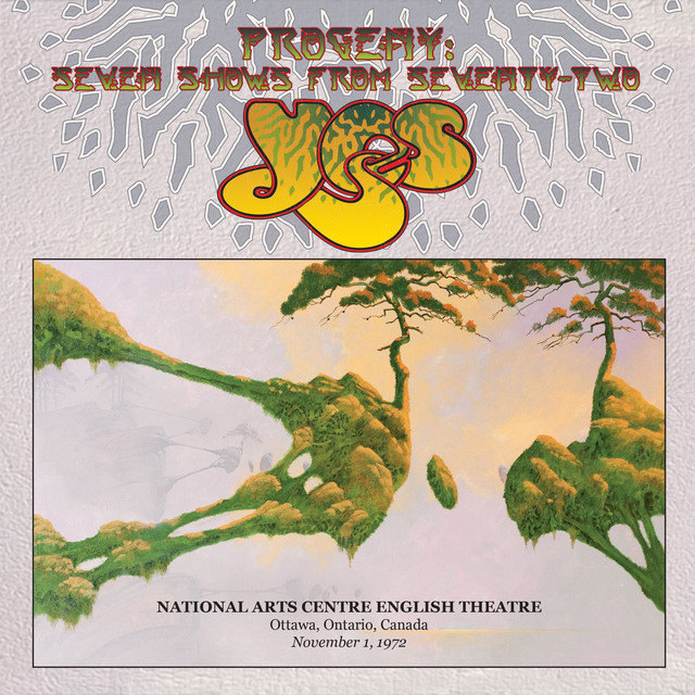 Yes Live at Ottawa Civic Centre, Ottawa, Ontario, Canada, November 1, 1972 album cover
