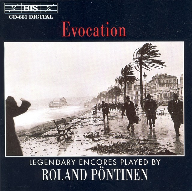 Pontinen, Roland: Evocation - Legendary Encores Albumcover