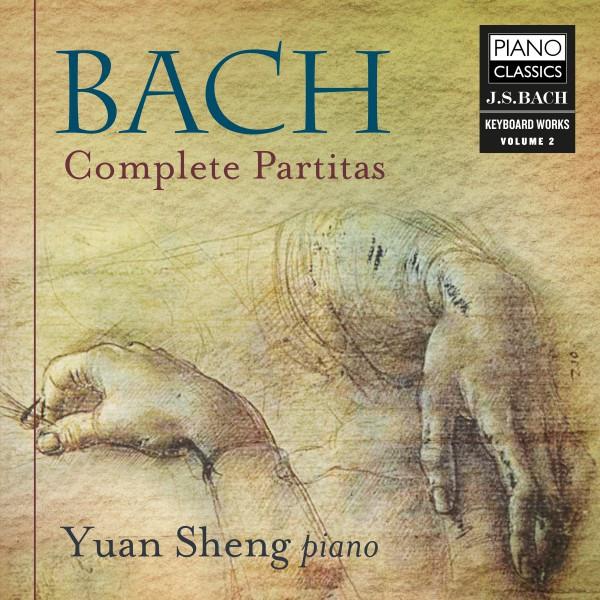 Album cover for Bach: Complete Partitas by Johann Sebastian Bach, Yuan Sheng
