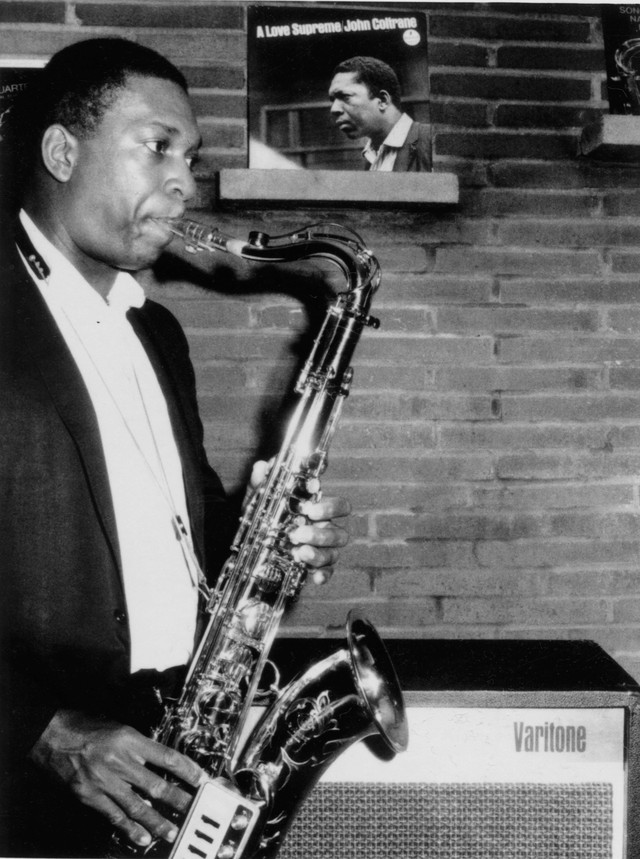 John Coltrane It Might as Well Be Spring cover
