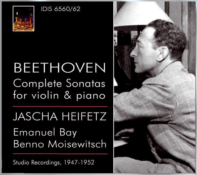 Beethoven, L. Van: Violin Sonatas (Complete) (Heifetz, Bay, Moiseiwitsch) (1947-1952) Albumcover