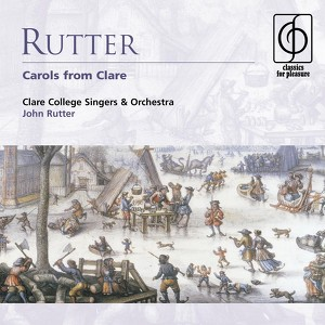 Rutter: Carols from Clare Albumcover
