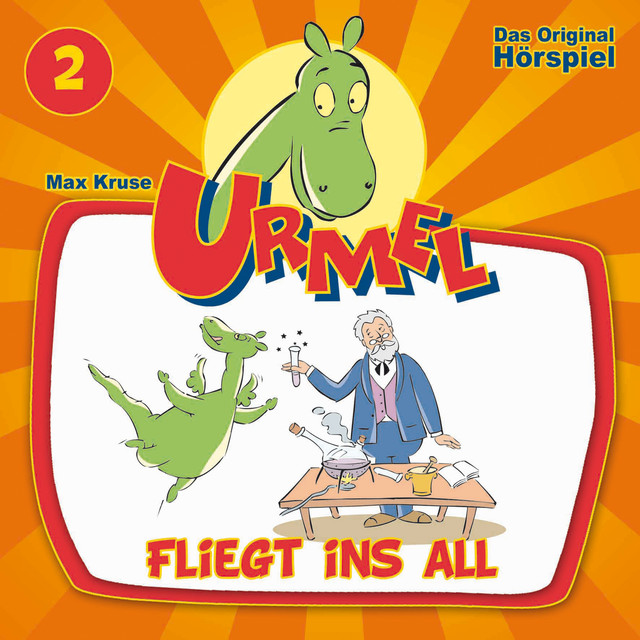 Folge 2 - Urmel Fliegt Ins All Cover
