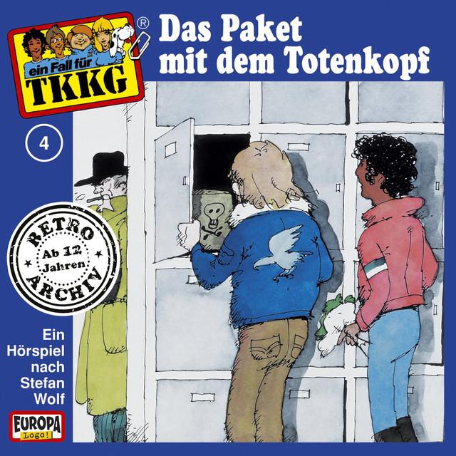 004 - Das Paket mit dem Totenkopf Cover