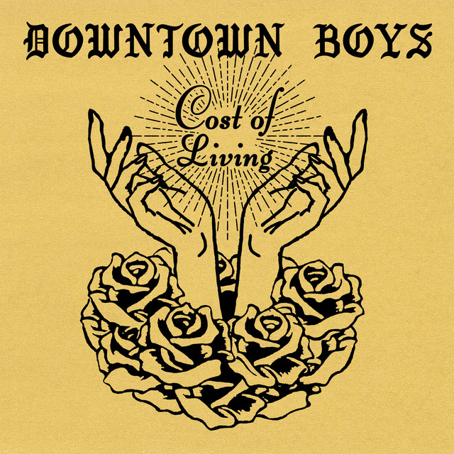 Album cover for Cost of Living by Downtown Boys