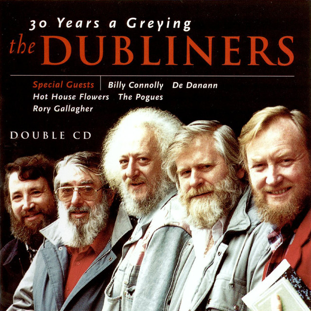 The Dubliners 30 Years A-Greying album cover