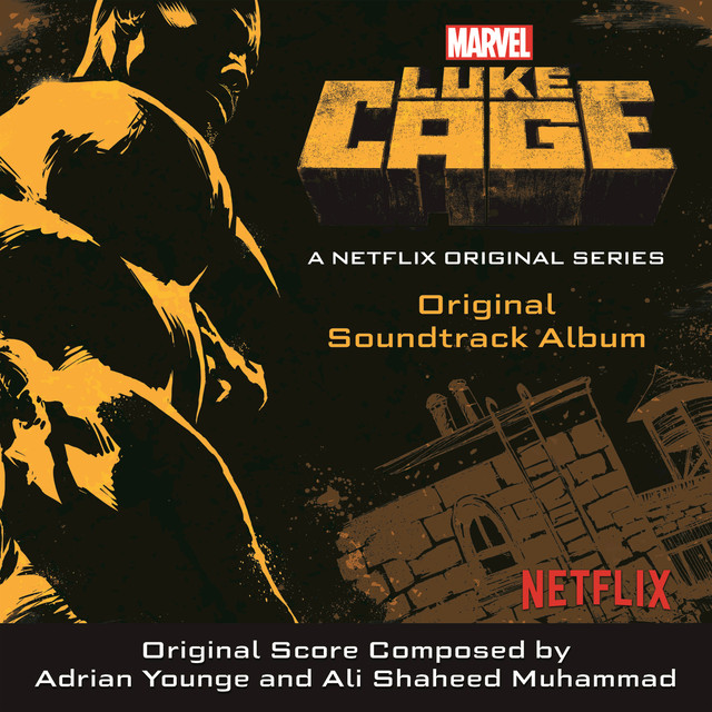 Album cover for Luke Cage by Various Artists