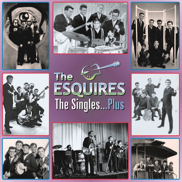 The Esquires - Flashin' Red / What A Burn!
