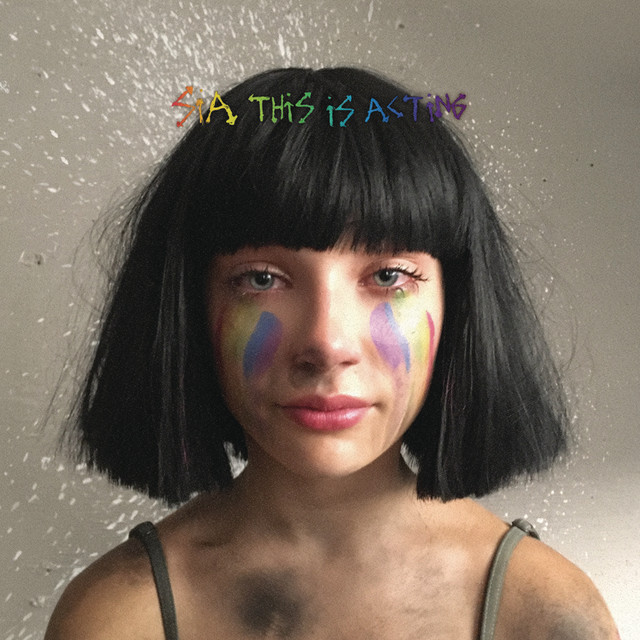 Sia This Is Acting (Deluxe Version) album cover