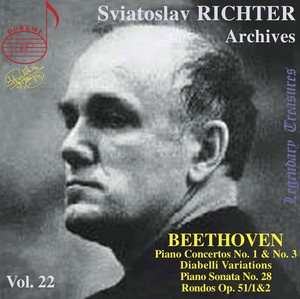Richter Archives, Vol. 22: Beethoven (Live) Albümü